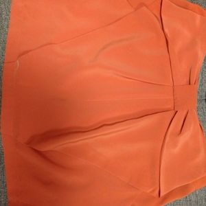 H&M mini skirt with large bow